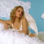 Der Engel im Bett